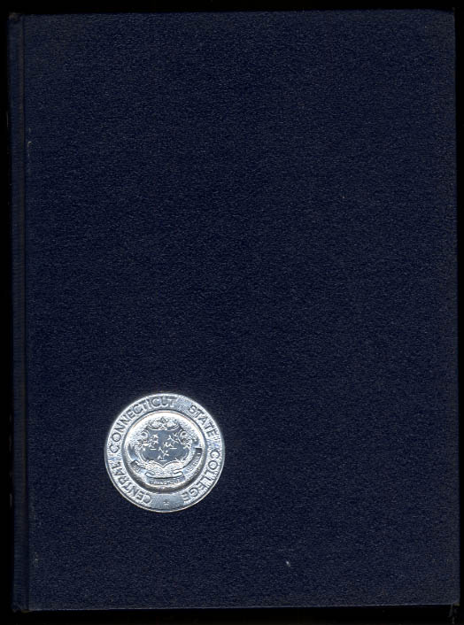 Dial 1965 Central Connecticut State College Yearbook New Britain CT