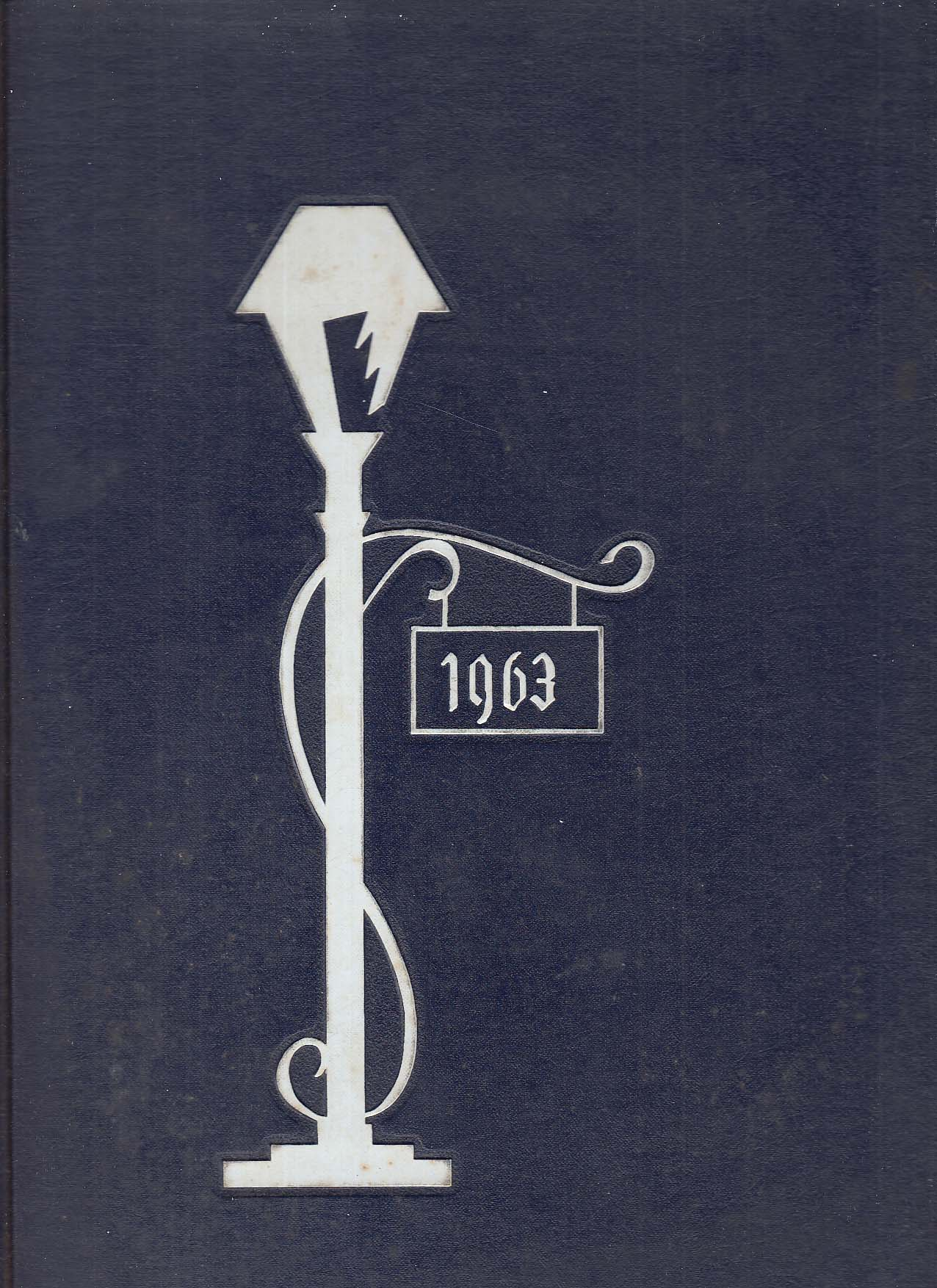Image for The Lamp 1963 Yearbook Lasell Junior College Auburndale Massachusetts