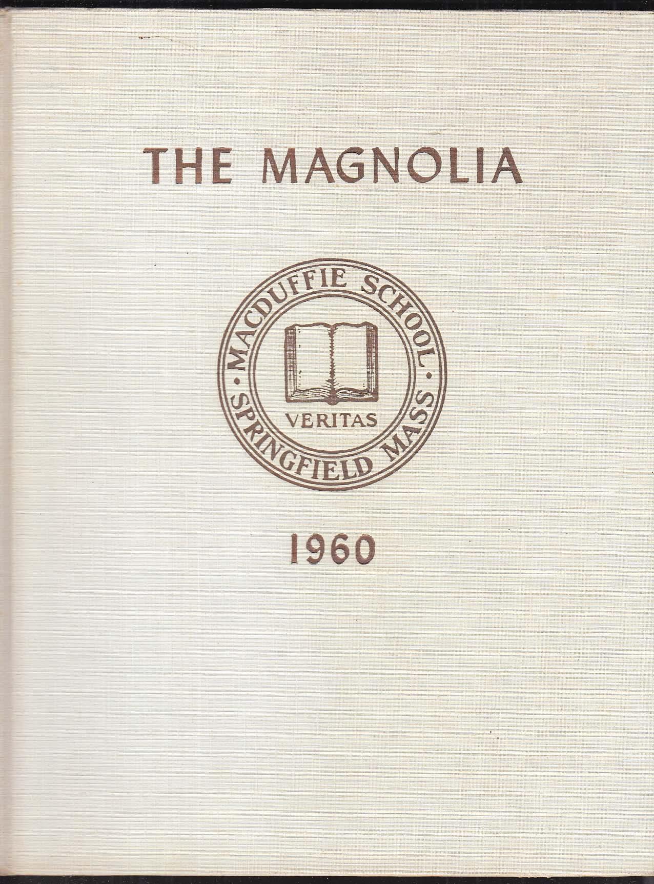 Image for The Magnolia MacDuffie School 1960 Yearbook Springfield Massachusetts