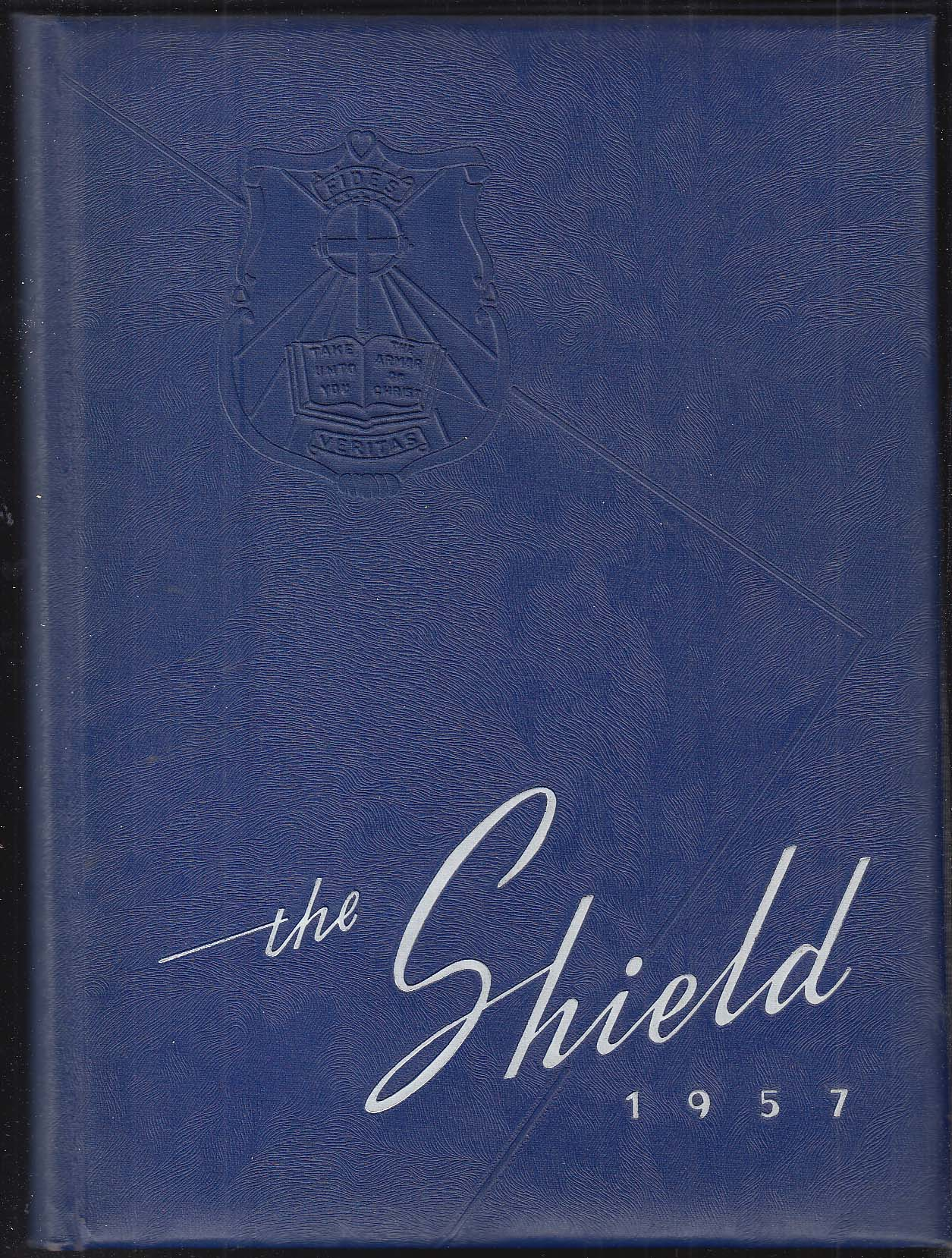 Image for The Shield 1957 Yearbook Saint Anthony High School Bristol Connecticut