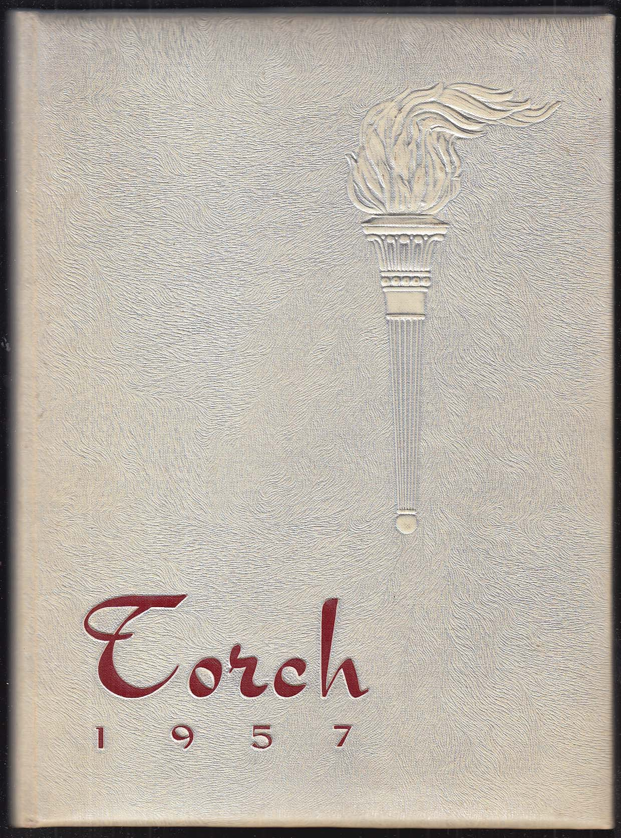 Image for The Torch 1957 Bristol High School Yearbook Bristol Connecticut