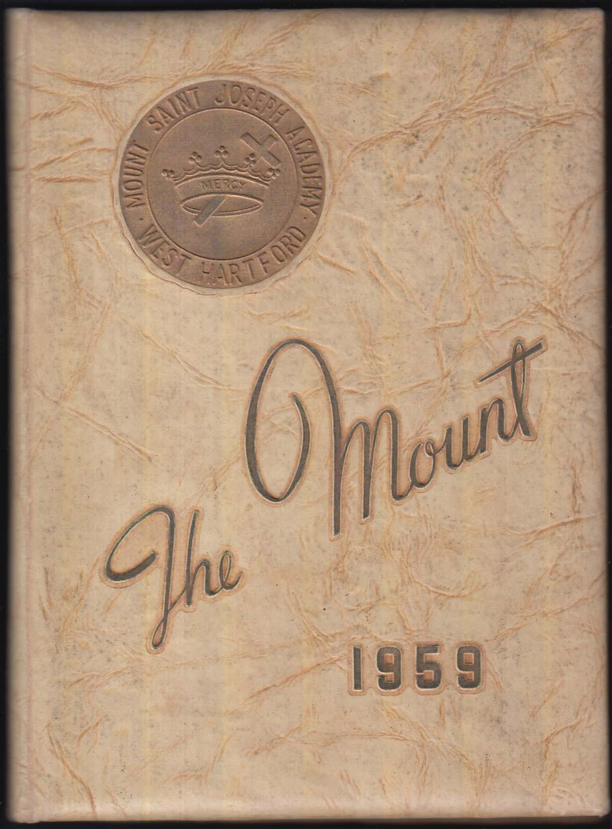 Image for The Mount 1959 Mount Saint Joseph Academy Yearbook West Hartford CT