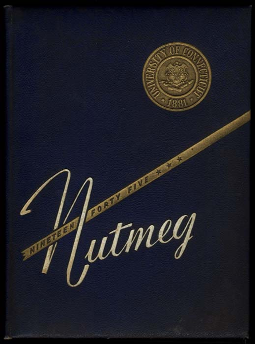 Image for Nutmeg 1945 Yearbook University of Connecticut Storrs CT