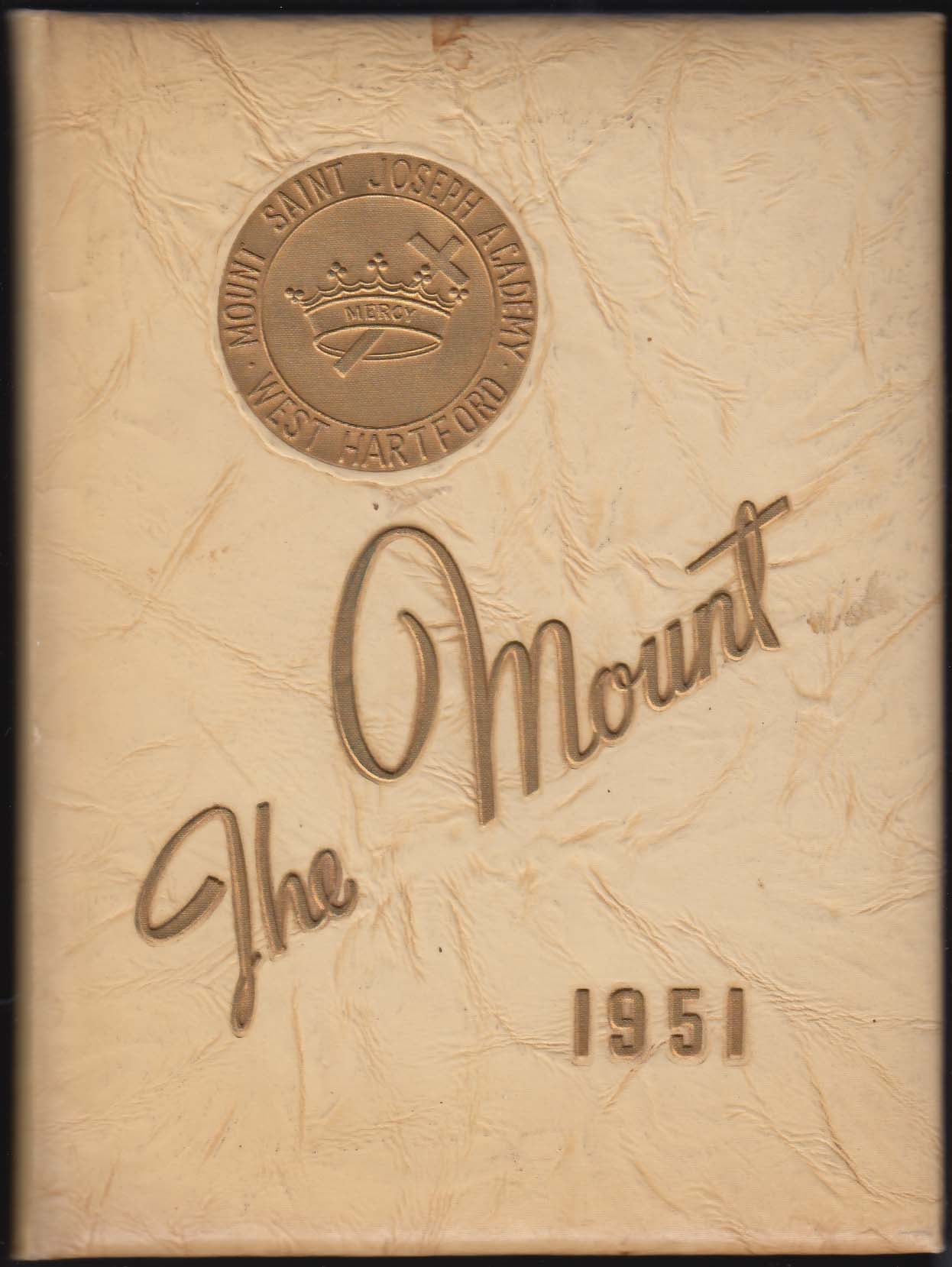 Image for The Mount 1951 Yearbook Mount Saint Joseph Academy West Hartford CT