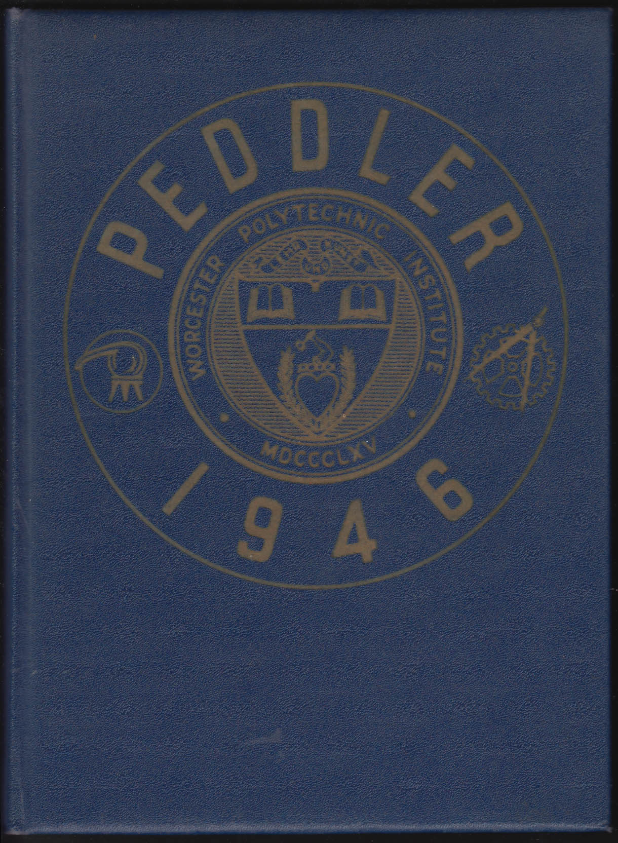 Image for Worcester Polytechnic Institute Peddler 1946 Yearbook Worcester Massachusetts