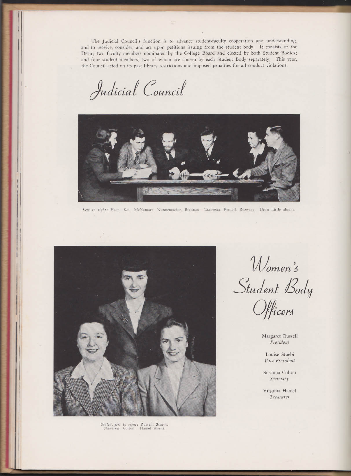 Image for Clark University Pasticcio 1946 Yearbook Worcester Massachusetts
