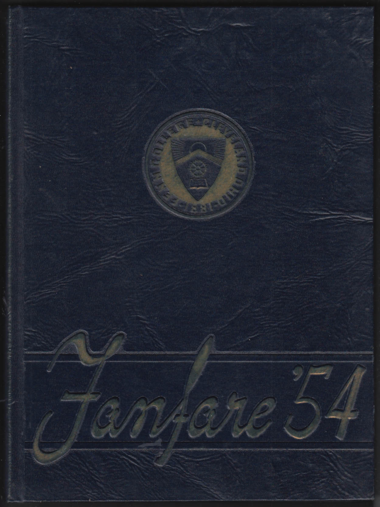 Fanfare 1954 Yearbook Fenn College Cleveland Ohio