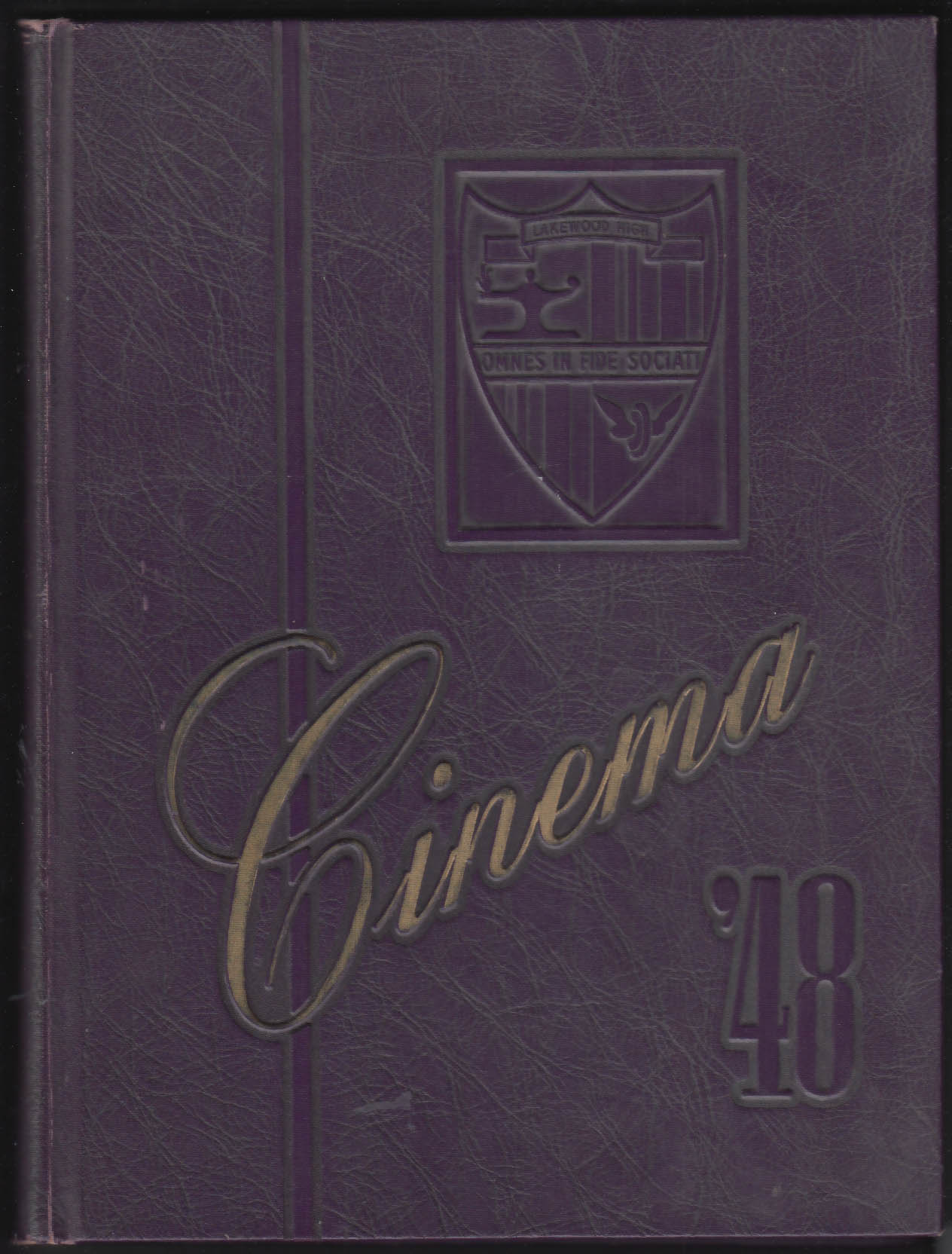 Cinema 1948 Yearbook Lakewood High School Lakewood Ohio