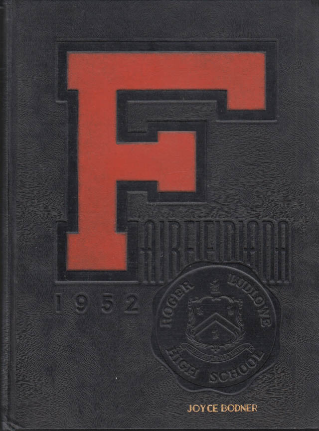 Image for Roger Ludlowe High School FAIRFIELDIANA Fairfield CT yearbook 1952