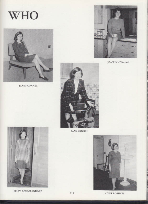 Image for Saint Joseph College [for Women] EPILOGUE West Hartford CT yearbook 1967