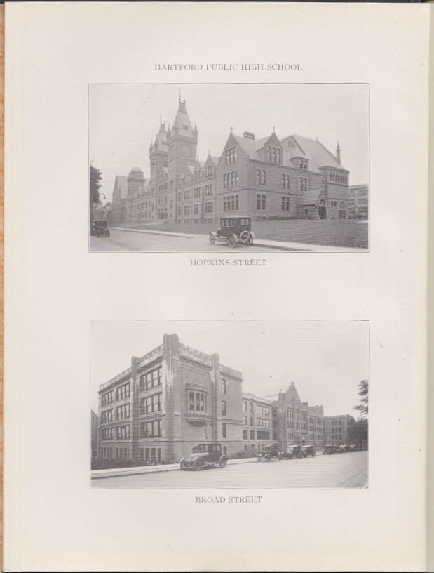 Image for Hartford Public High School THE CLASS BOOK of 1924 B yearbook