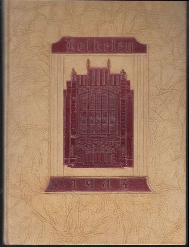 Image for Bulkeley High School Hartford CT yearbook 1945