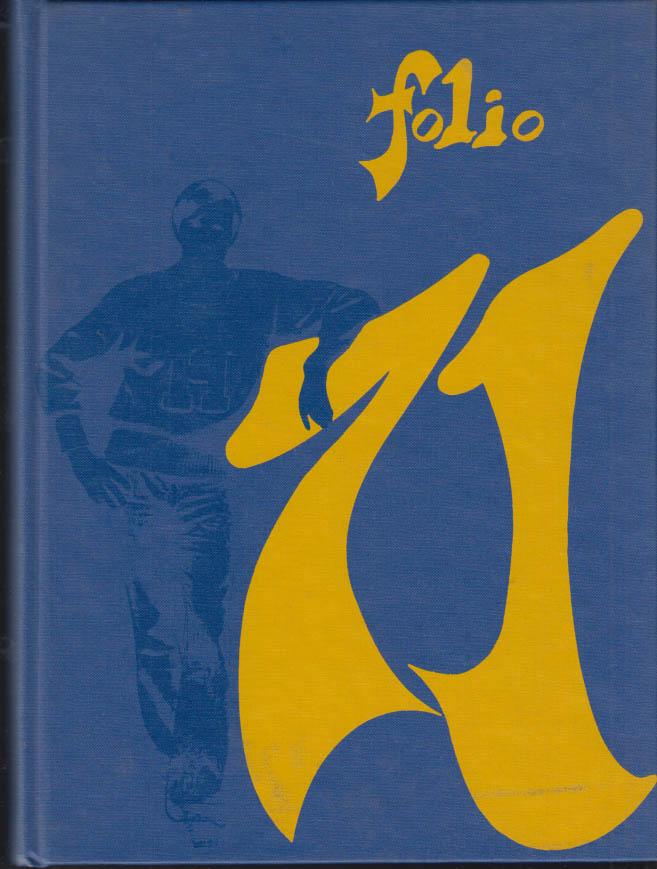 Image for Warren Harding High School Bridgeport CT FOLIO yearbook 1971