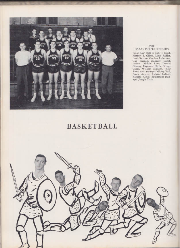 Image for University of Bridgeport THE PURPLE KNIGHT yearbook 1953 CT