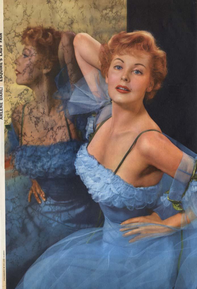 Esquire (Lady Fair) Pin Up Girl 1956 Arlene Dahl