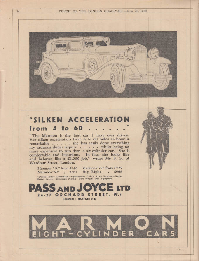 Davenport 4 Different 1930/'s Papers Bluedorn Motor Co Ia Marmon /& Durant Cars